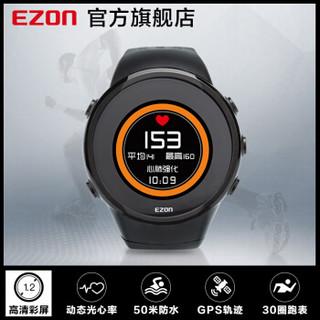 宜准(EZON)户外运动手表智能多功能GPS彩屏飞利浦动态光心率表防水跑步电子表T958