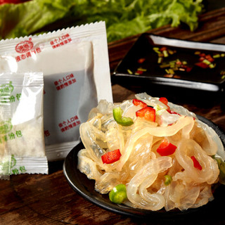 金鹏 凉拌海蜇丝 800g 4袋 礼盒装 内含料包 海鲜水产干货