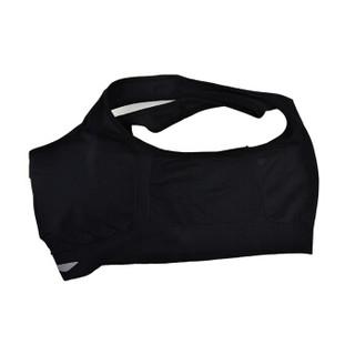 LI-NING 李宁 瑜伽服跑步健身运动文胸内衣 AUBN124 -1 黑色 M码