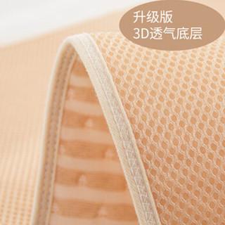 宜贝儿(ebenz)婴儿尿垫新生儿彩棉3D隔尿垫2条装70*50(透气可洗)