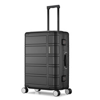 AMERICAN 25英寸男女商务行李箱 机械轴承万向轮密码箱TI2黑色