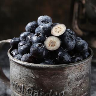 FLATFISH 塔么鱼 智利进口新鲜大蓝莓 六盒装 (125g、盒装)