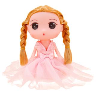 喜之宝 娃娃玩具女孩玩具可梳妆仿真洋娃娃喜儿公主萌教主 可爱粉