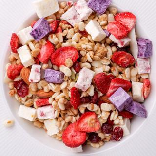 欧扎克酸奶果粒水果坚果麦片 即食燕麦片 代餐燕麦 营养早餐食品 谷物冲饮 干吃零食燕脆麦400g