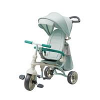 babycare儿童三轮车 脚踏车1-3岁 宝宝手推车轻便折叠婴儿推车 7918海雾蓝