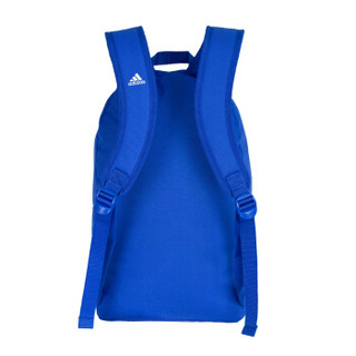 adidas 阿迪达斯 潮流款双肩背包 休闲运动 学生背包 CG0517 高光蓝色