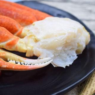 皇家格陵兰 原装进口熟冻分切雪蟹500g 3块 盒装 海鲜水产