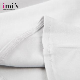 imi's爱美丽女士家居服 时尚条纹套头无袖性感连衣裙 灰色 165/90/L