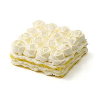 廿一客(21cake)朗姆芝士乳脂奶油生日蛋糕2磅  生日礼物同城配送当日送达