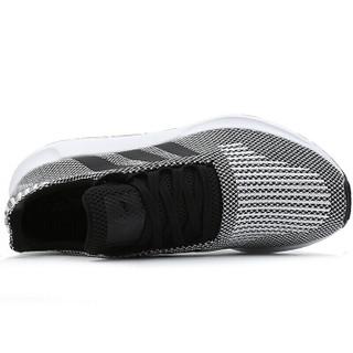 adidas 阿迪达斯 三叶草系列 SWIFT RUN 运动 休闲鞋 B37734 灰/黑 42.5码 UK8.5码