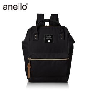 anello 阿耐洛 离家出走妈妈包AT-B0193A双肩包黑色