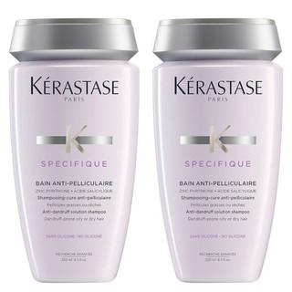 再降价 : KÉRASTASE 卡诗 去屑洗发水 250ml 2瓶