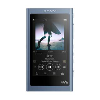 索尼(SONY)NW-A55HN Hi-Res高解析度音乐播放器/MP3 16GB 附带耳机(蓝色)