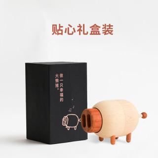 Shuter 树德 L3374 树德猪鼻子旋转音乐盒