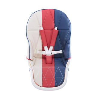 爱音(Aing)儿童餐椅 欧式多功能婴儿餐椅四合一宝宝餐椅免安装可折叠便携式C055 音色