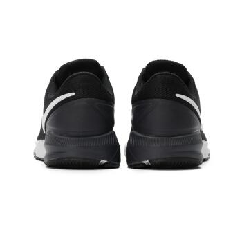 NIKE 耐克 男子跑步鞋 NIKE AIR ZOOM STRUCTURE 22 运动鞋 AA1636-002 黑色 41