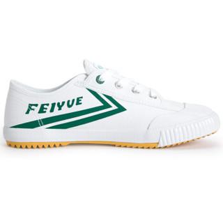 dafufeiyue 大孚飞跃 经典款国货男女帆布运动休闲潮流小白鞋 315 白绿 38