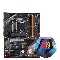 GIGABYTE 技嘉 Z390 AORUS ELITE 主板+intel 英特尔 Core i9-9900K 处理器 板U套装