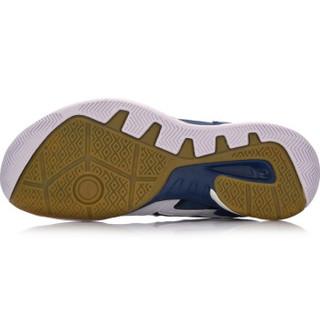LI-NING 李宁 羽毛球系列 男 羽毛球鞋类 AYTN003 标准白/藏青蓝/标准黑 40
