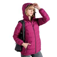 TECTOP 探拓 棉衣 男女轻盈保暖棉服 加厚防泼水外套 80252 女款 紫红 S