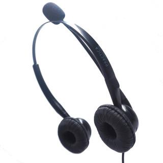 缤特力(Plantronics)SP8-USB办公头戴式耳机耳麦/客服话务/降噪话筒