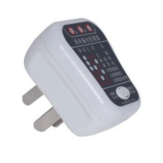 标康 BK-308验电器插座测试仪相位极性漏电检测仪零线地线火线多功能电源检测仪