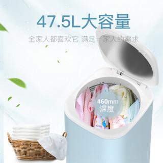 美菱(MeiLing)家用消毒杀菌宝宝婴儿衣物干衣机/烘干机静音速干风干机 浅蓝色MD-601