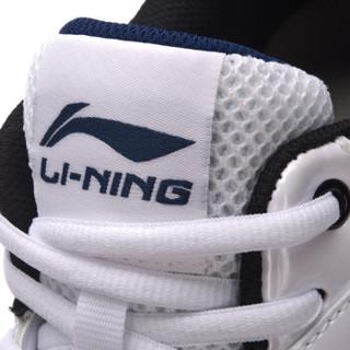 LI-NING 李宁 羽毛球系列 男 羽毛球鞋类 AYTN003  标准白/藏青蓝/标准黑 42