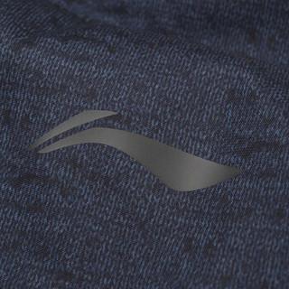 LI-NING 李宁 瑜伽户外运动健身时尚保暖白鸭绒长款羽绒服外套 AYMN079-2 3XL码 黑色