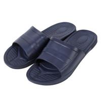 华美健步 防滑拖鞋 男拖男女款凉拖时尚家居室内休闲浴室厨房 经典款 HM821 蓝色 44-45