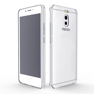 瓦力(VALEA)魅族魅蓝Note6手机壳/保护套薄全包硅胶防摔外壳 透明软壳