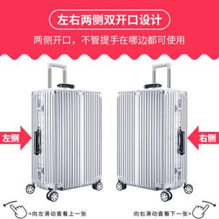 班哲尼 拉杆箱旅行箱保护套弹力行李箱套防尘雨罩加厚耐磨托运套 多啦猫适用19英寸20英寸21英寸拉杆箱
