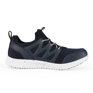 PEAK 匹克 女鞋轻便防滑舒适休闲跑步鞋耐磨运动鞋情侣鞋 E74768E 靛兰 39码