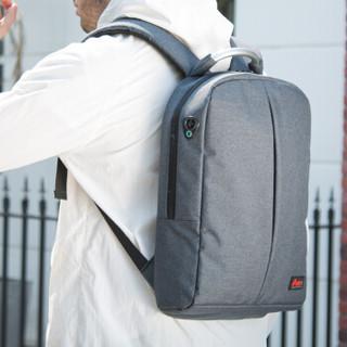 火柴人(MatchstickMen)CX1001 多功能休闲数码包 笔记本双肩包 深灰