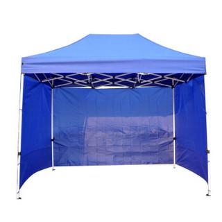 鲸伦(KINGRUNNING)户外广告帐篷围布 遮阳挡雨篷摆摊围挡 大排档帐篷围墙 普通款9米红色围布(不含架子)