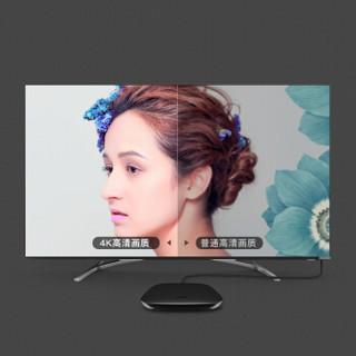 秋叶原(CHOSEAL)光纤HDMI线4k60HZ数字高清线无损传输 18Gbps投影仪媒体视频连接线 黑色 35米 QS8165AT35