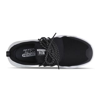 SKECHERS 斯凯奇 D'LITES系列 熊猫鞋一脚蹬时尚潮 88888157-BKW 黑色/白色 35