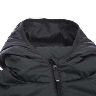 LI-NING 李宁 AYMM159-1 训练系列 男 秋冬季 中羽绒服 标准黑 S码
