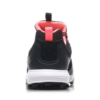 LI-NING 李宁 ARDM032-2 跑步系列 女跑步鞋类 标准黑/荧光炫粉 35