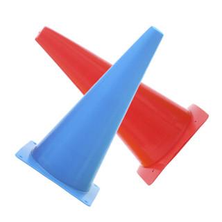 威仕顿 WEISHIDUN 标志桶足球篮球训练器材三角锥路障户外步伐训练 障碍物标志 48cm 五色 5个装