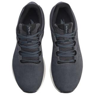 LI-NING 李宁 ARHN243-3 跑步系列 男跑步鞋类 深铁灰/乳白色 46
