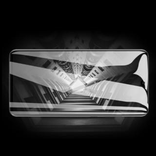 莫凡 荣耀10青春版钢化膜全屏覆盖手机防摔爆防指纹玻璃膜 适用荣耀10青春版 黑色