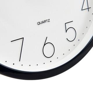 TIMESS 挂钟 客厅三联装饰画时钟简约静音 简约文艺清新粉色系Z7
