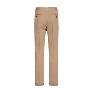PRADA 普拉达 男士驼棕色混纺休闲长裤 SPE12 1NN7 F0040 54码