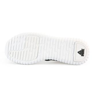 PEAK 匹克 男鞋秋冬款都市休闲鞋轻便防滑耐磨舒适运动鞋 E64647E 黑色 40码