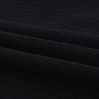 欧偲麦 针织裙 半身裙中长款秋季冬裙女士半身长裙子包臀毛线高腰大码2019春新款 LDNS-98810 黑色 15码-2尺3
