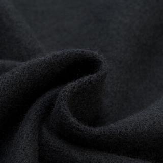 LI-NING 李宁 训练系列 男 卫衣卫裤套装 AWEM019-5 标准黑厚版 M