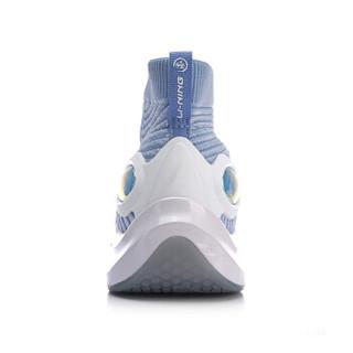LI-NING 李宁 运动时尚系列 女 运动时尚鞋 AGLN142-1 冰水蓝/标准白 40