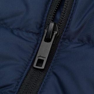 LI-NING 李宁 AYMN041-3 运动时尚系列 男 羽绒服类 深鸢尾蓝 XL