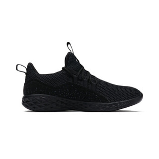 XTEP 特步 男子运动鞋跑步健步鞋2018年秋季新款轻质柔软舒适防滑运动鞋 882319629087 黑灰 42码
